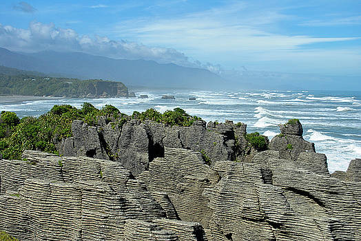 Pancake Rocks by Megan Martens
