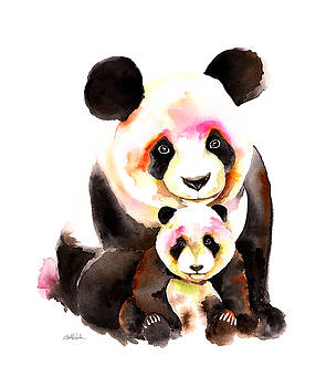 Panda Bear by Isabel Salvador