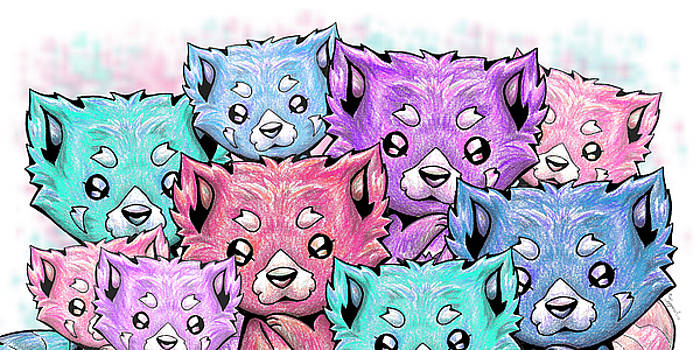 Curious Pandas by Sipporah Art and Illustration