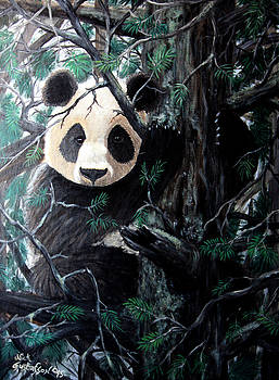 Nick Gustafson - Panda in tree