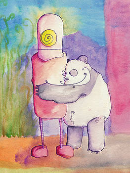 Panda Loves Robot - Robot Feels Nothing by Jonathan Arras