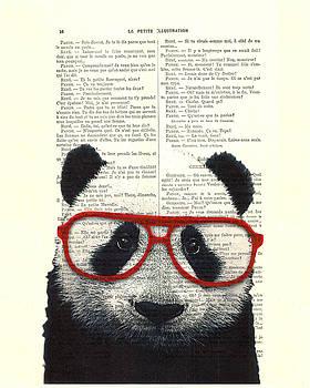 Panda Nursery Art by Madame Memento