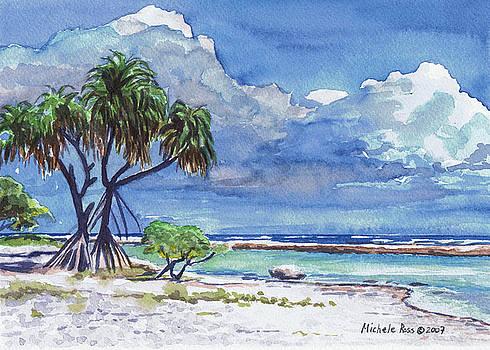 Pandanus Lagoon by Michele Ross