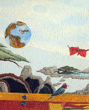 Panel 2 Dream Of The Sleeping Buddha by JVan