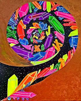 Pangea Spiral by Siobhan Shene