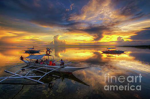 Yhun Suarez - Panglao Port Sunset 10.0