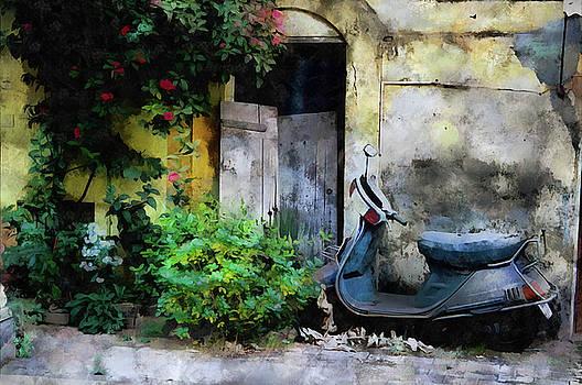 Panjim street scene by Gavin Bates