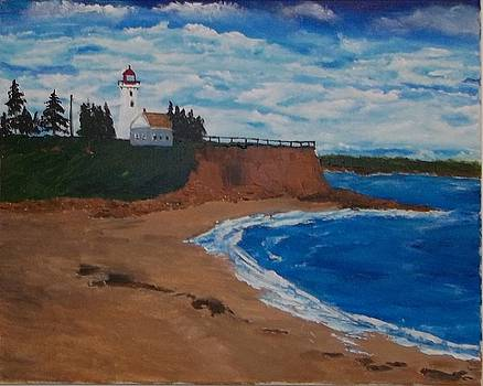 Panmure Lighthouse by Tony  DeMerchant