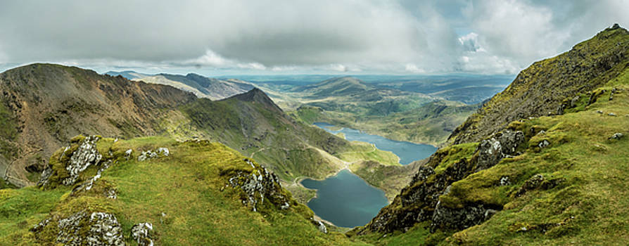 Pano Snowdonia by Nick Bywater