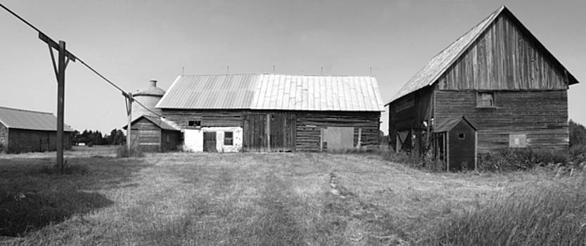 Panorama - Old Barn on 1279-HWY 57 by Stephen Mack