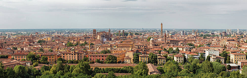 Panorama Bologna by Cristian Mihaila