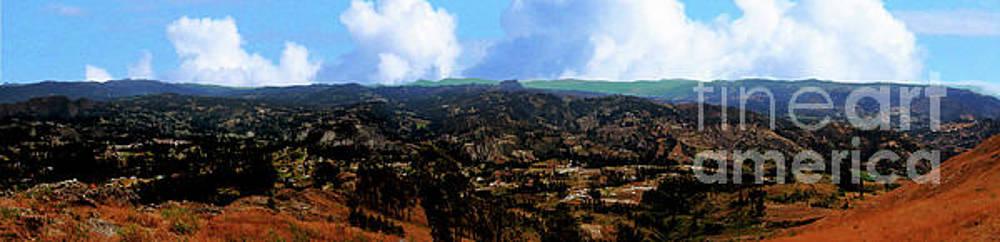 Panorama From Pachamama V by Al Bourassa