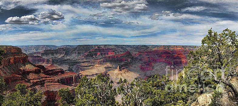 Chuck Kuhn - Panorama Grand Canyon IV