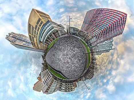 Panorama Kruisplein Rotterdam by Frans Blok