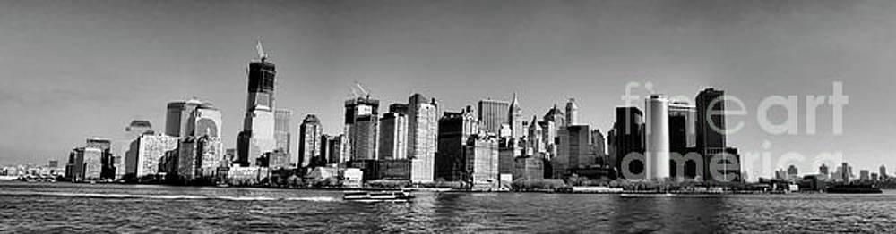 Chuck Kuhn - Panorama NYC Black