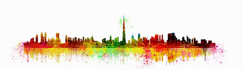 panorama of Dubai by Tatiana Tyumeneva