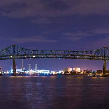 Panorama Of Entire Bridge At: by Isaac S