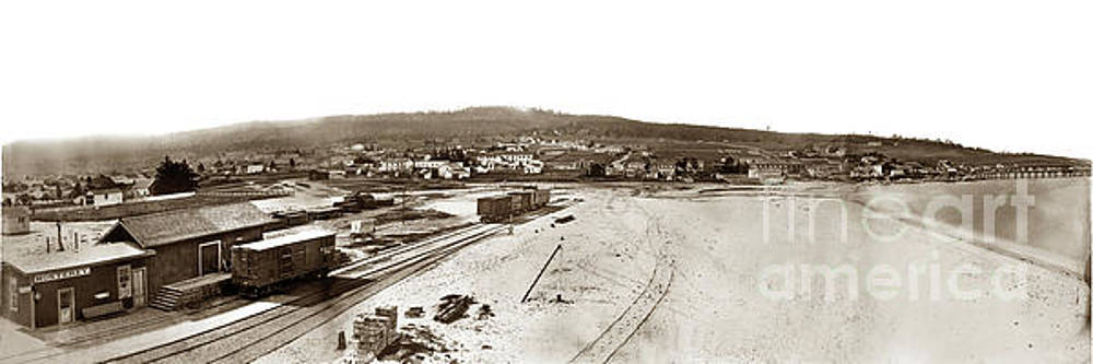 California Views Mr Pat Hathaway Archives - Watkins Panorama of Monterey, California 1882