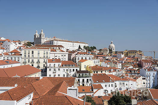 Compuinfoto   - panorama of ols lisbon old town
