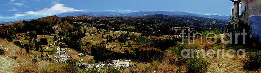 Panorama Of Pachamama IV by Al Bourassa