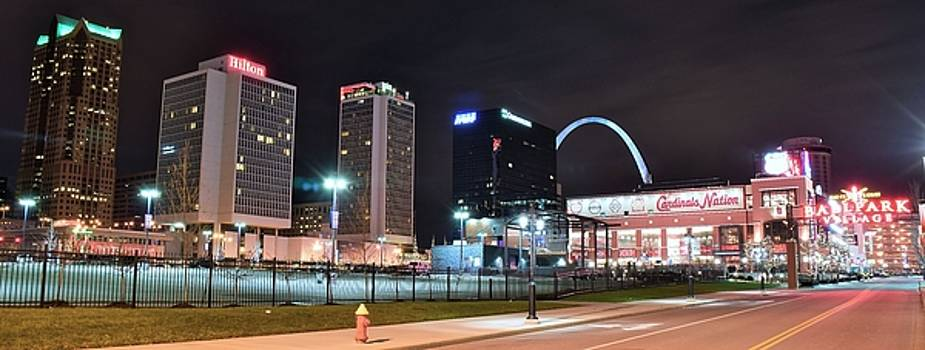 Frozen in Time Fine Art Photography - Panorama of St Louis