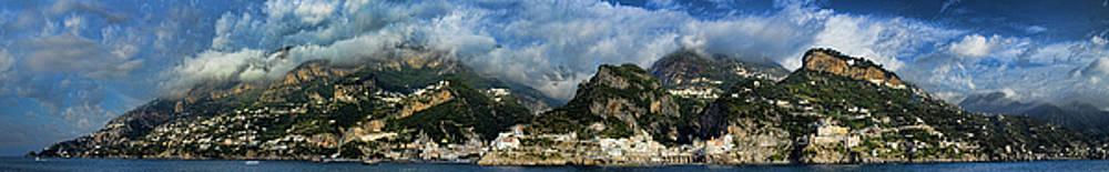 Panorama of the Amalfi Coastline by David Smith