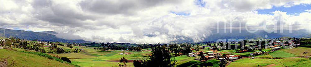 Panorama Of The Andes On The Way To Quito, Ecuador  by Al Bourassa