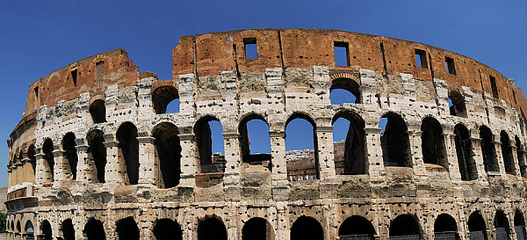 Reimar Gaertner - Panorama of the Colosseum or Flavian Amphitheatre in Rome