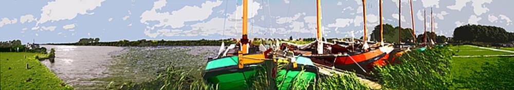 Panorama Sloten by Arie Van Garderen