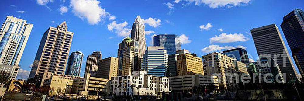 Paul Velgos - Panoramic Charlotte Skyline Photo