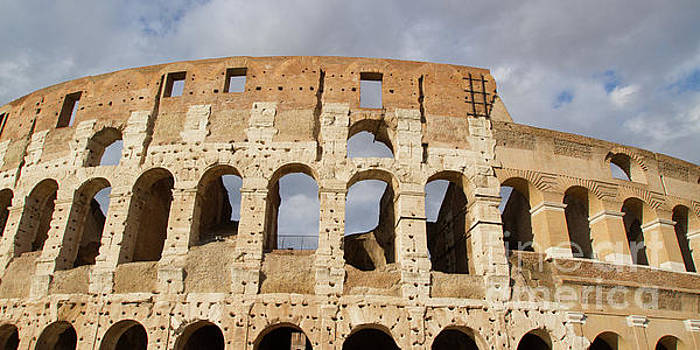 Panoramic Colosseum by Denise Lilly