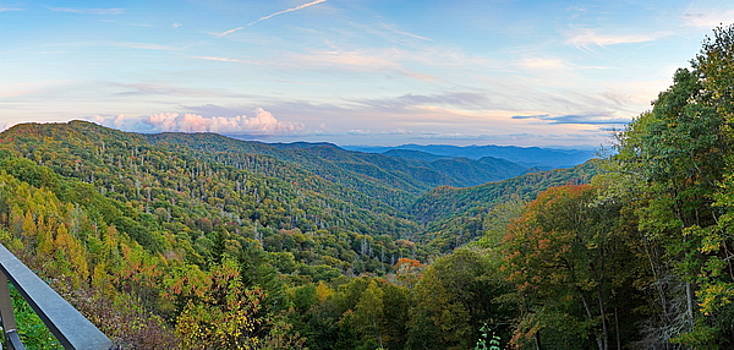 Simply  Photos - Panoramic October Views of Smokey Mountain National Park
