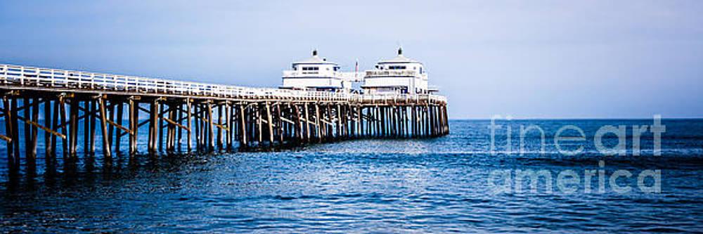 Paul Velgos - Panoramic Picture of Malibu Pier in Malibu California