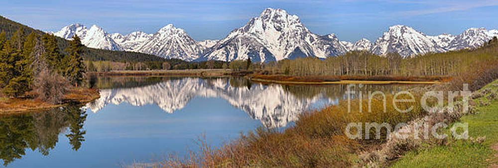 Adam Jewell - Panoramic Reflections At Oxbow