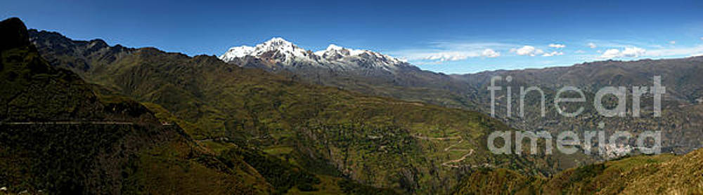 James Brunker - Panoramic View of northern part of Cordillera Real Bolivia
