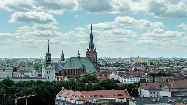 Jacek Wojnarowski - Panoramic view of Szczecin Cathedral