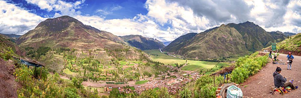 Eduardo Huelin - Panoramic view of Urubamba Cusco Peru