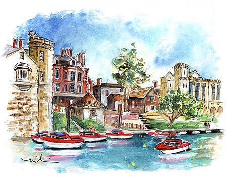 Panoramic View Of York 02 by Miki De Goodaboom