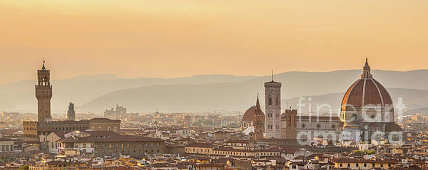 Delphimages Photo Creations - Panorama of Florence