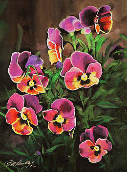 Pansies by Bill Dunkley