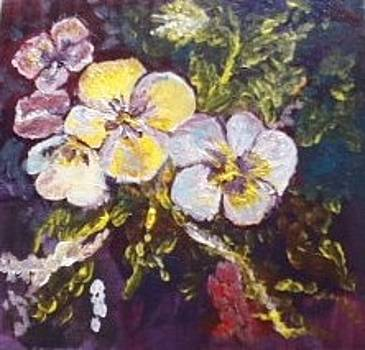 Pansies by Connie Morrison