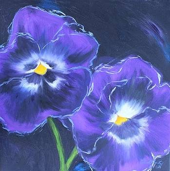 Pansies by Erin Wildsmith
