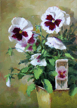 Pansies by Linda Jacobus