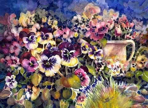 Pansy Garden by Ann Nicholson