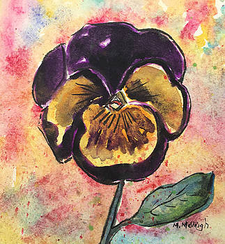 Pansy Gem by Marita McVeigh