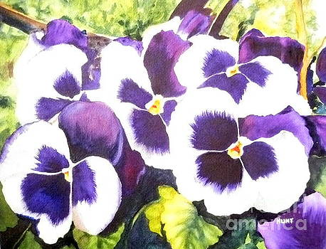 Pansy Party by Shirley Braithwaite Hunt