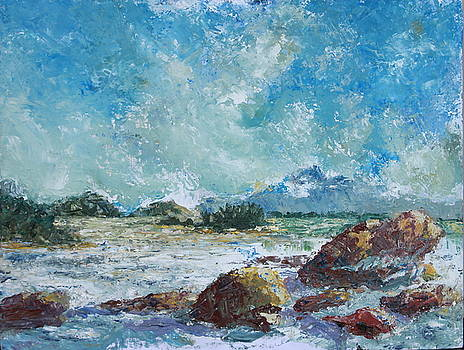 Pantai Santubong Landscape by Saadon Bin Saad