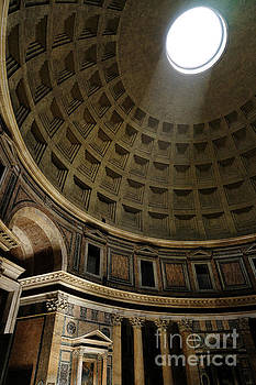Pantheon Oculus by Ann Garrett