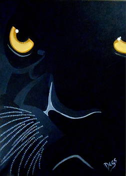 Panther shadow cat by Chris Degenhardt