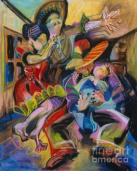 Papa and Bambino by Donna Hall